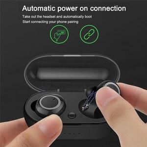 Image 2 - Tws Wireless Bluetooth Earphone Sport Running Fitness Handsfree Car Earphones With Mic Mini Wireless Headset For Xiaomi