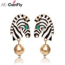 Ae canfly Модные преувеличенные серьги в богемном стиле форме
