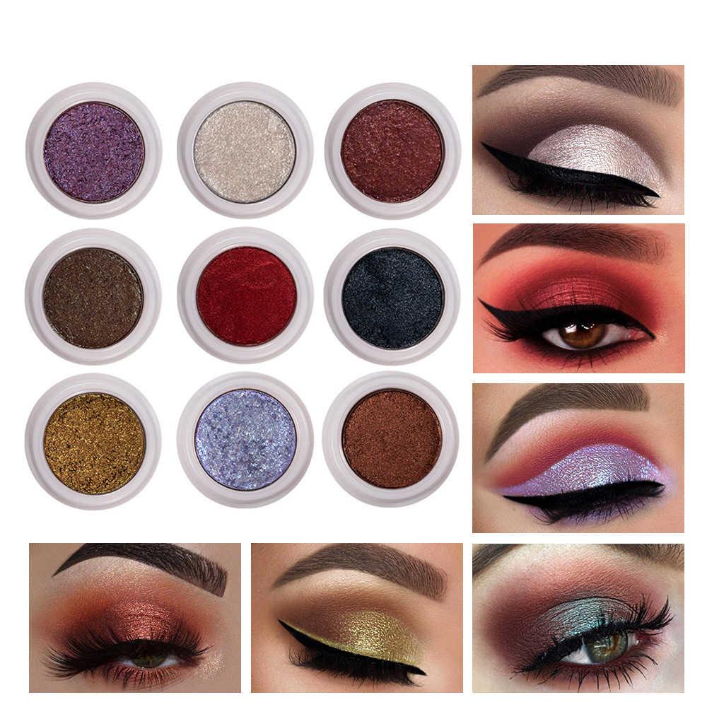 HANDAIYAN Glitter Lidschatten Gel Metallic Pulver Pigment Parfüm Glänzende Kosmetik Augen Make-Up Highlighter Creamy Palette TSLM1