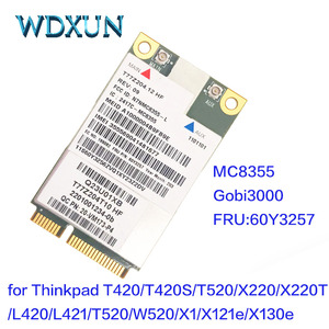 Sierra MC8355 GOBI3000 GPS 3G HSPA EVDO WWAN Wireless Card for Lenovo Thinkpad X220 T420 T520 X230 T430 T530 W520 W530 60Y3257