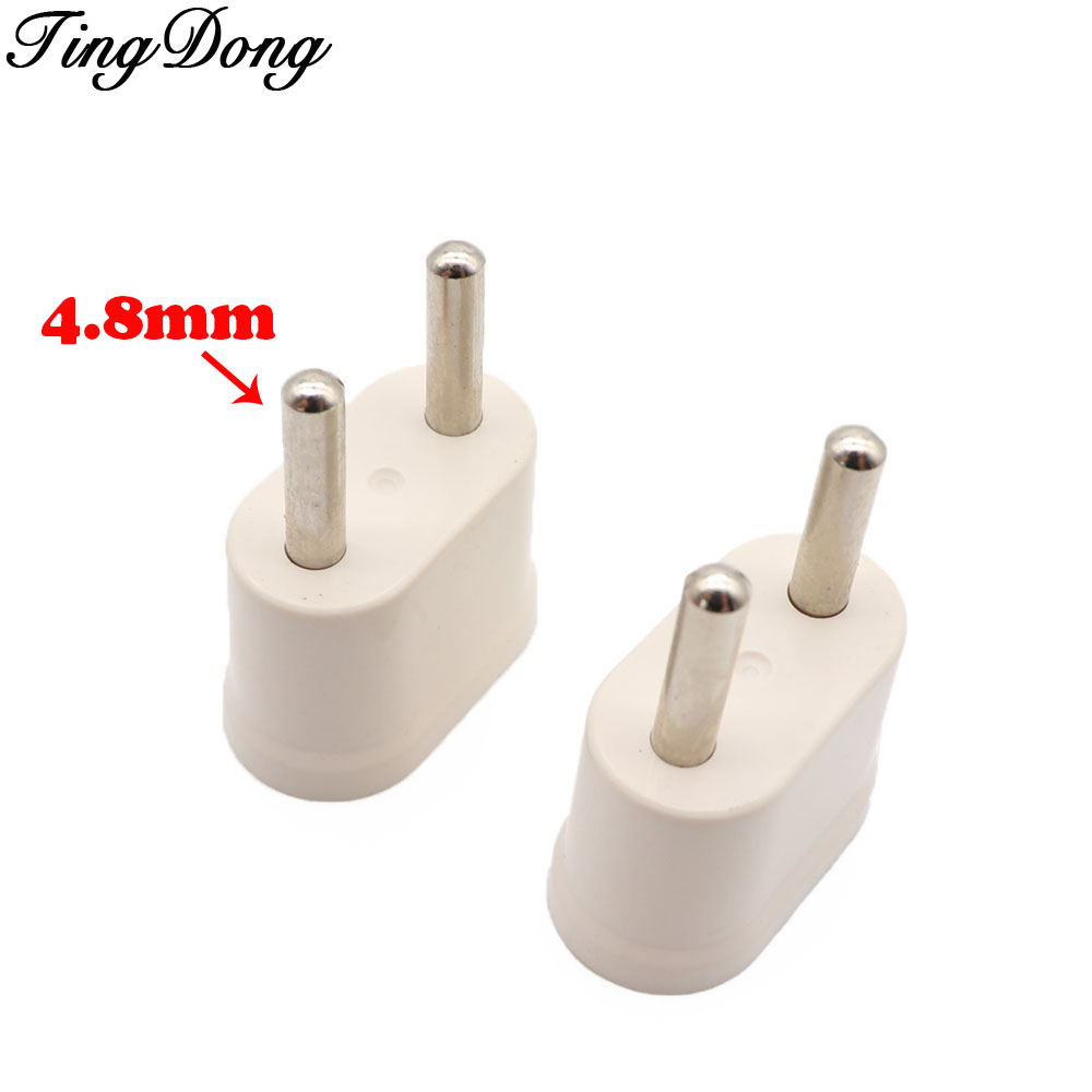 TingDong <font><b>EU</b></font> KR Plug <font><b>Adapter</b></font> Japan <font><b>CN</b></font> US To <font><b>EU</b></font> Euro European Travel <font><b>Adapter</b></font> Electric Plug Power Cord Charger Sockets Outlet image