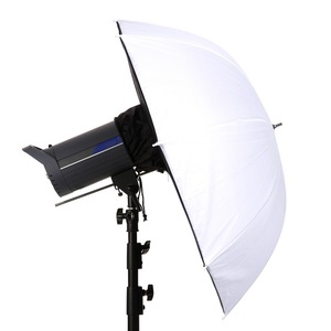 "Image 2 - 2pcs צילום Softbox מטריית 84cm/33 ""נייד מצלמה תמונה רך תיבת עבור מבזק עבור צילום סטודיו"