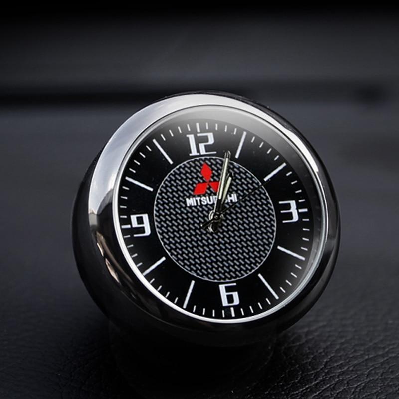 Car Decoration Car Clock Watch Interior Electronic Quartz Watch For Mitsubishi Outlander Jin Xuan ASX Pajero Wing God