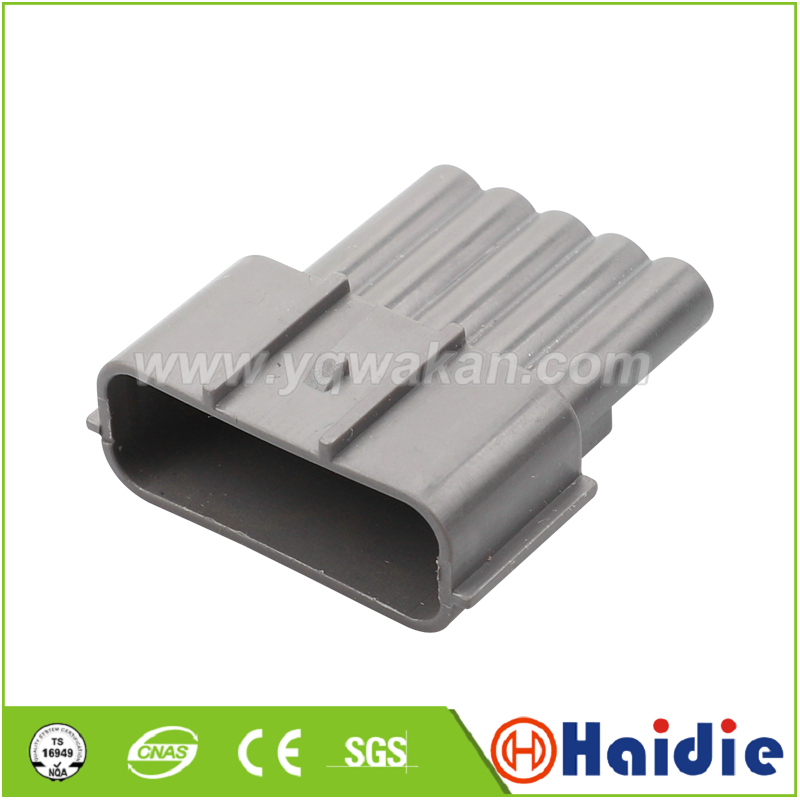 Free Shipping 20sets 5pin Male Of 6189-0848  Waterproof Automotive Electrical Repacement Connector