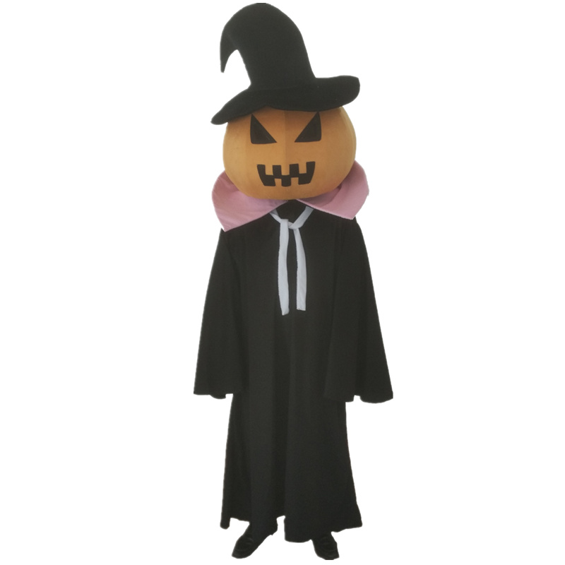 Halloween Pumpkin Mascot Costume Cosplay Fancy Dress Vegetables Theme Pumpkins Cartoon Costumes for Christmas Carnival Party