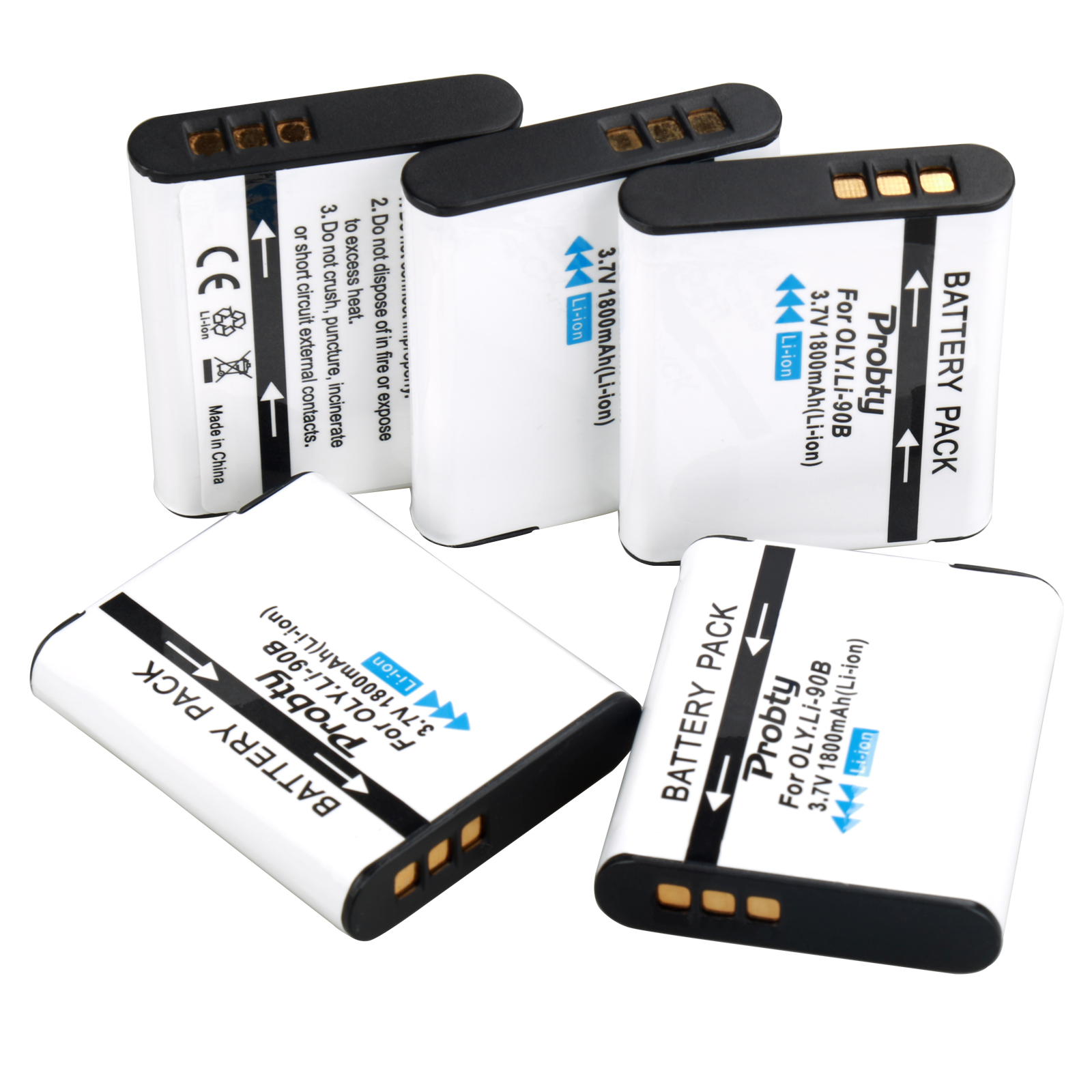 Image 5 - For Olympus LI 90B  LI 90B LI 92B Batteries or Charger for Olympus Tough TG 5 TG 2  TG 3 TG 4 TG Tracker SH 1 SH 2 SP 100 IHS-in Digital Batteries from Consumer Electronics
