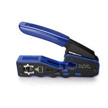 EZ Rj45 Crimping Pliers Manual Network Tool Pliers Cat5 Cat6 8P Rj 45 Cable Stripping Pliers Crimping Pliers Clamp