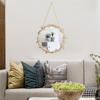 Nordic style Golden Hanging Mirror Butterfly Hanging  Mirror  3