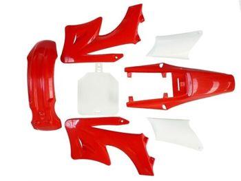 KIT de carenado de plástico rojo, PIT DIRT BIKE 125/140/160/250cc para APOLLO Orion PITPRO