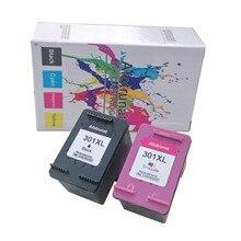 Afotrunat восстановленные для HP 301XL 301 XL чернильный картридж трехцветный для HP с чернилами HP Deskjet 1000 1010 1050 1510 2050 2050A 2540 принтеры