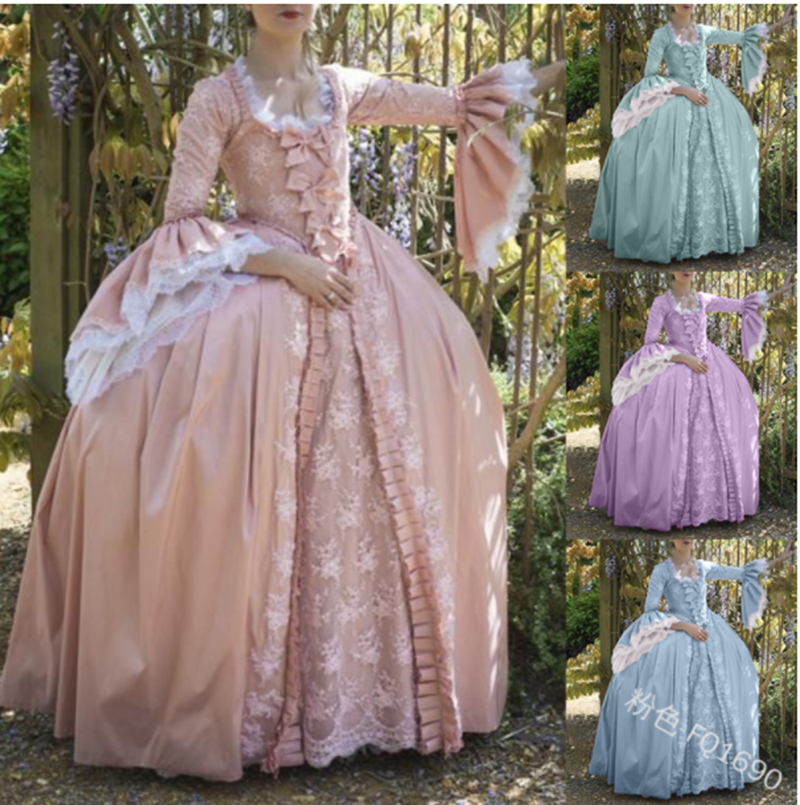 Vintage Lace Bowknot Flare Sleeve Victorian Dress Kawaii Girl Gothic Lolita Op Loli Palace Princess Sweet Lolita Evening Dress