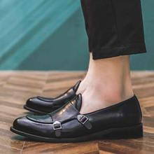 Деловая Мужская обувь; Размеры 48; Официальная кожаная обувь