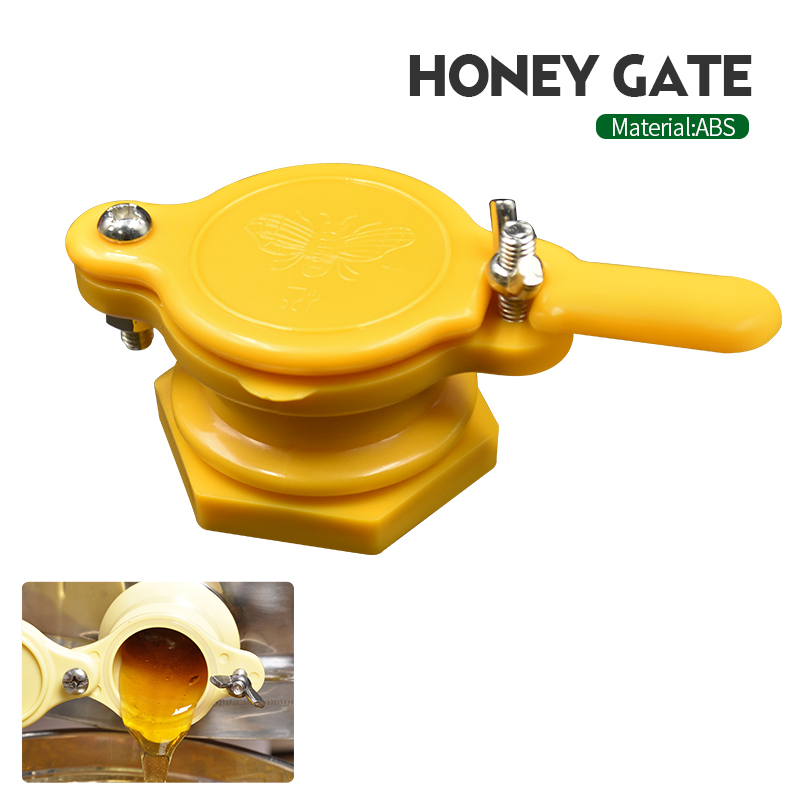 Beekeeping Tools Plastic Bee Honey Tap Gate Valve Extractor Bottling Bee Keeping Equipment