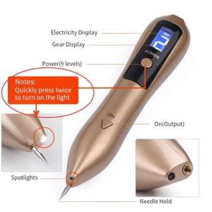 Image 2 - Laser Plasma Pen Freckle Remover Machine LCD Mole Removal Dark Spot Remover Skin Wart Tag Tattoo Remaval Tool Beauty Salon