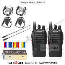 2 Pçs/lote BF-888S Baofeng Walkie Talkie bf888s 5W Rádio 400-470MHz 888s 888S BF Baofeng Rádio Em Dois Sentidos H-777 H777 Barato H777 UHF