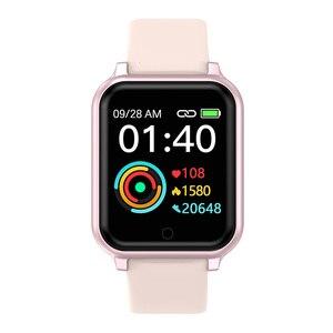 Image 2 - B58 الساعات الذكية مقاوم للماء الرياضة B57 زائد آيفون أبل الهاتف Smartwatch رصد معدل ضربات القلب ضغط الدم للنساء الرجال