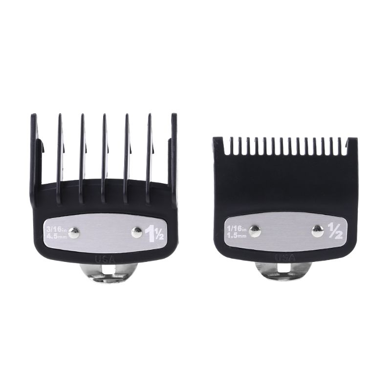 1PC/2 pièces Guide de coupe professionnel peigne tondeuse à cheveux limite peigne avec pince en métal coupe outil de coupe de haute qualité livraison directe