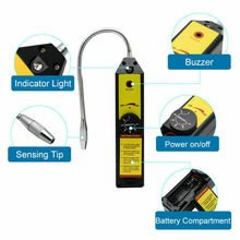 Refrigerant Freon Leak Detector for HFC CFC Halogen R134a R410a R22a R600a R290 Air Condition HVAC Leak Detector  Recovery