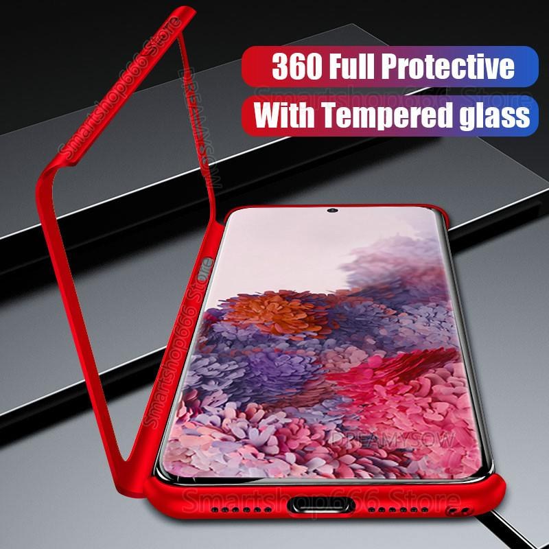 360 Full Cover Shockproof Case For Samsung Galaxy S20 Ultra S10 S9 Plus A10S A20S A20E A30S Case On Galaxy A51 A71 A50 A70 Cover