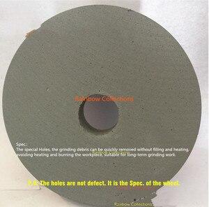 Image 2 - 150*20*32mm 180 6000 grütze PVA parallel polieren rad Gummi rad schwamm rad Spiegel polieren wasser schleifen typ