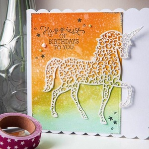 ZFPARTY лошадка для резки металла трафареты для DIY Скрапбукинг декоративное тиснение DIY бумажные карты
