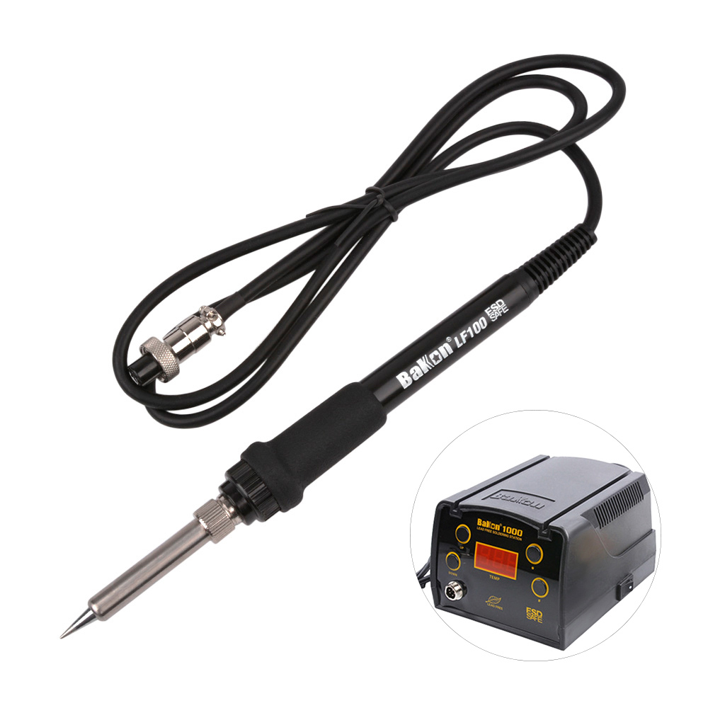 BAKON LF100 Soldering Iron High Temperature Electric Solder Iron Handle For High Frequency BK1000 Soldering Station
