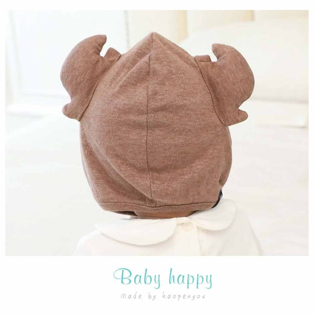 hot! 2018 Children's antlers hooded small crab hat horn cap animal styling cap