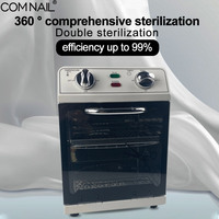 SM 220 Sterilizer Box Certificate Warranty Factory Outlet High Temperature Disinfecton Manicure Nail Art Tools Dry Heat Machine