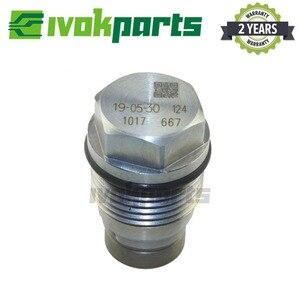 Image 4 - Válvula de alívio pressão hidráulica do trilho combustível limitador para hyundai libero porter H 1 kia sorento 2.5 crdi 1110010017 f00r000741