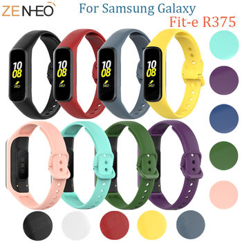 Sport Silicone For Samsung Galaxy Fit-e R375 watch band Replacement strap For Galaxy Fit-e R375 bracelet TPU Protective Case laforuta silicone band for galaxy fit e strap rubber sport wrist band for samsung r375 loop women men fitness bracelet 2019