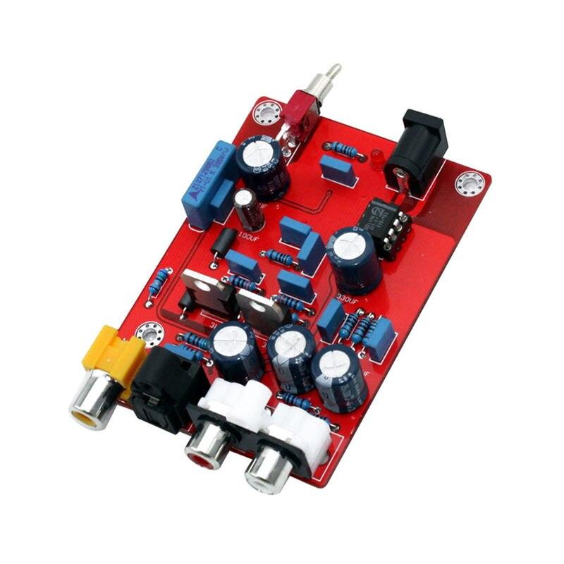 Hifi Tda1543 + Cs8412 Dac Audio Decoder Board Op Amp Decoding Decode Circuit Module For Amplifier