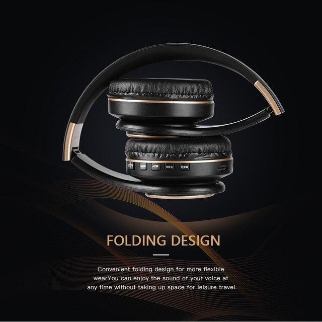 T8 HIFI stereo  bluetooth headphone music headset  5
