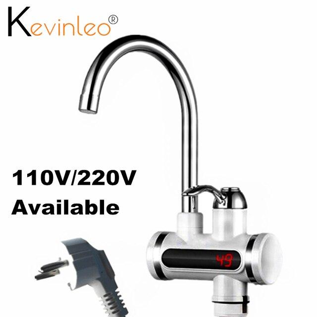 タンクレス給湯器タップ要素110v 220v 3000ワットキッチンインスタント電気蛇口温水電気タップ