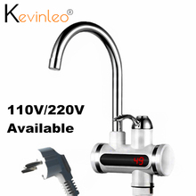 Tankless Water Heater Tap Element 110V 220V 3000W Kitchen Instant Electric Faucet Hot Water Electric Tap