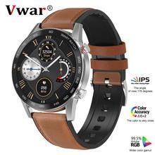 Vwar Trend 5 Bluetooth Вызов ЭКГ PPG 360*360 HD экран IP68 Водонепроницаемый фитнес-трекер кровяное давление кислородные спортивные умные часы