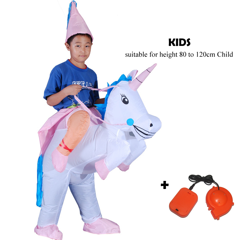 2020 Purim Gift Inflatable Dinosaur Costumes Unicorn Party Cosplay Alien Costume Mascot Halloween Costume for Woman Adult Kids