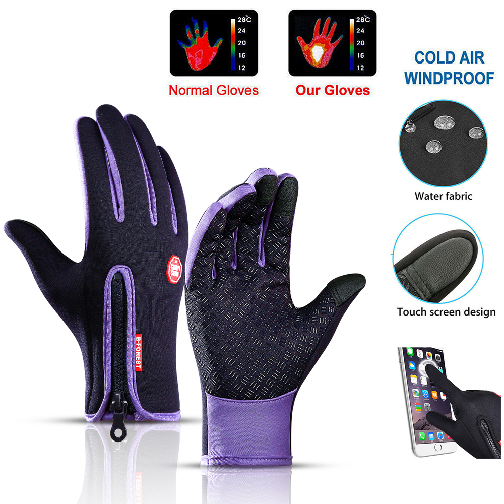Motorcycle Gloves Breathable Unisex Full Finger Hiking Cycling Glove Fashionable Outdoor Racing Sport Glove Winter Gloves