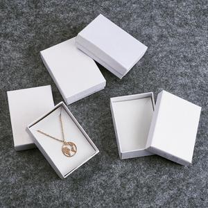 Bracelets Earring Ring Necklace Jewelry Set Box Packaging Gift Boxes Rectangle Square Cardboard Jewelry Boxes Mixed Color Black(China)