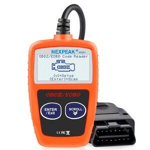 Image 1 - Nx201 leitor de código obd2 scanner carro ms309 ferramenta de diagnóstico automático obd 2 carro diagnóstico do motor leitor de código melhor então elm327 obd