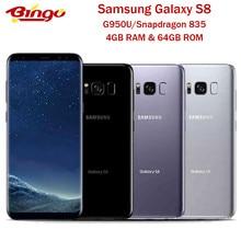 Samsung Galaxy S8 Original G950U Einzelne Sim Qualcomm Snapdragon 835 Octa Core 5.8