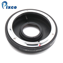 Pixco For FD-EOS Mount Adapter Ring Canon FD Lens to EOS EF Came 760D, 750D, 5DS(R), 5D Mark III, II
