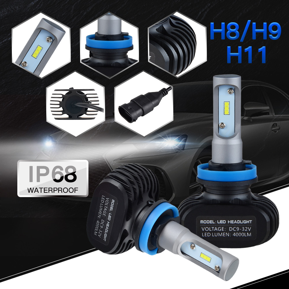 LED Headlight Bulbs Head Lamp Fog Light Bulbs H8 H9 H11 Hi/Lo Beam For Ducati Panigale 1199/899 Superbike 1098/1198/1199/848/999|  - title=