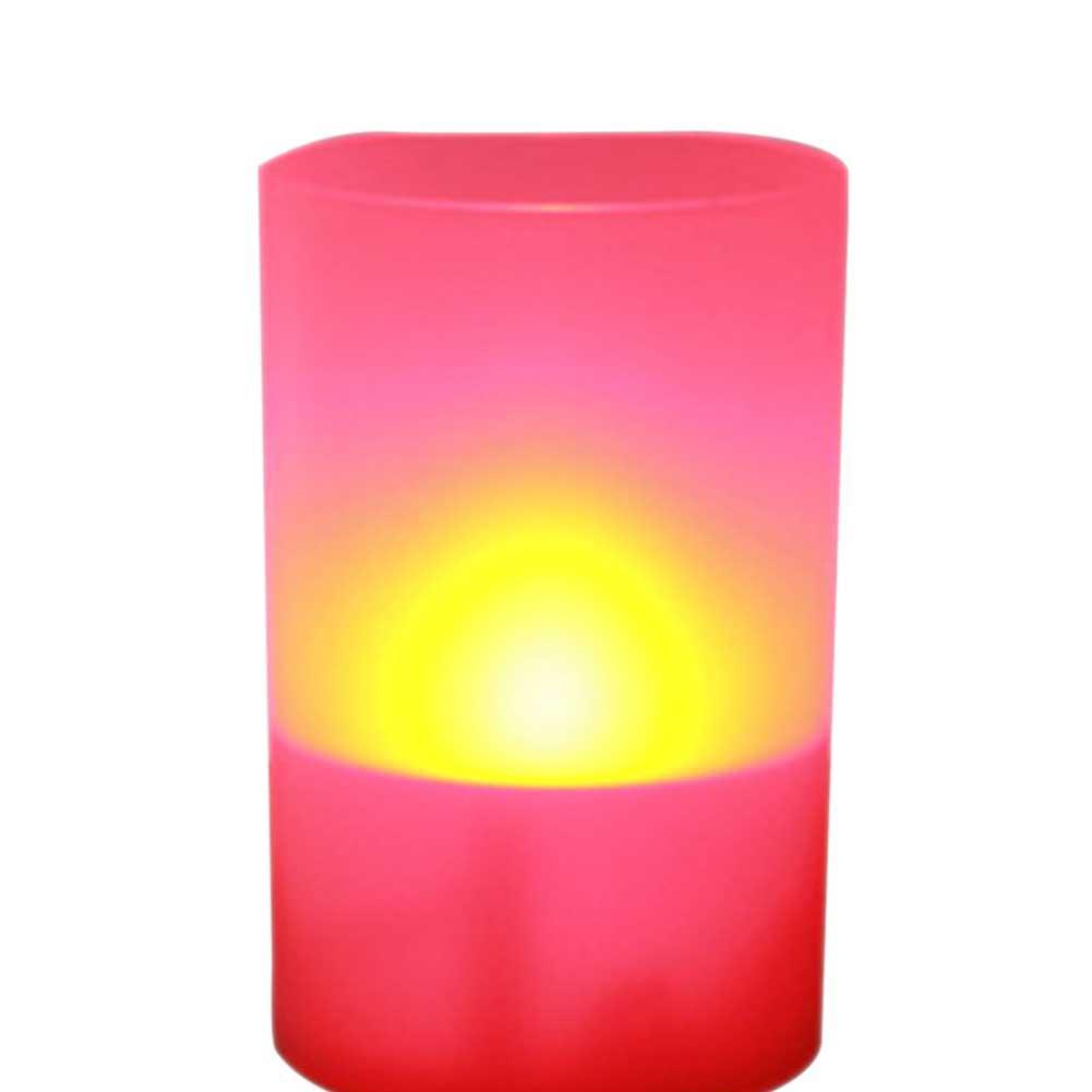 Solar LED Candle Light Marriage Innovative Layout Bar Cafe Club KTV Decorative Light Control Candle Lamp