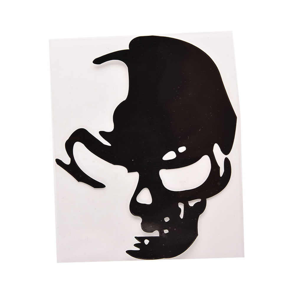 Popular Car Reative Reflective Car Stickers Skull Decal Car Whole Body Styling Vinyl