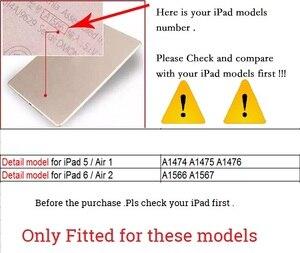 Image 5 - חדש Slim Bluetooth עבור iPad אוויר 2/iPad 6 מקלדת מקרה אלחוטי מלא מגן ABS כיסוי עבור Apple iPad אוויר 2 מקלדת כיסוי