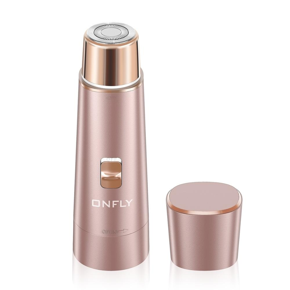 Laxcare Mini Portable Electric Epilator USB Rechargeable Waterproof Facial Hair Remover Electric Shaver Depilador For Women Gift