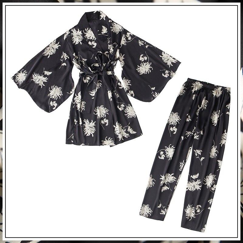 黑色两件套(外袍_长裤)