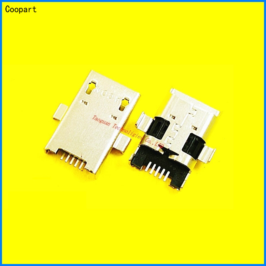 2pcs/lot Coopart USB Charging Port Dock Connector For Asus ZENPAD 10 Z300C P024 C300m Z308cl Z308c Z380KL Me103K P022 P023