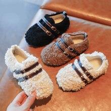Зимняя детская обувь; Повседневная хлопковая обувь для мальчиков