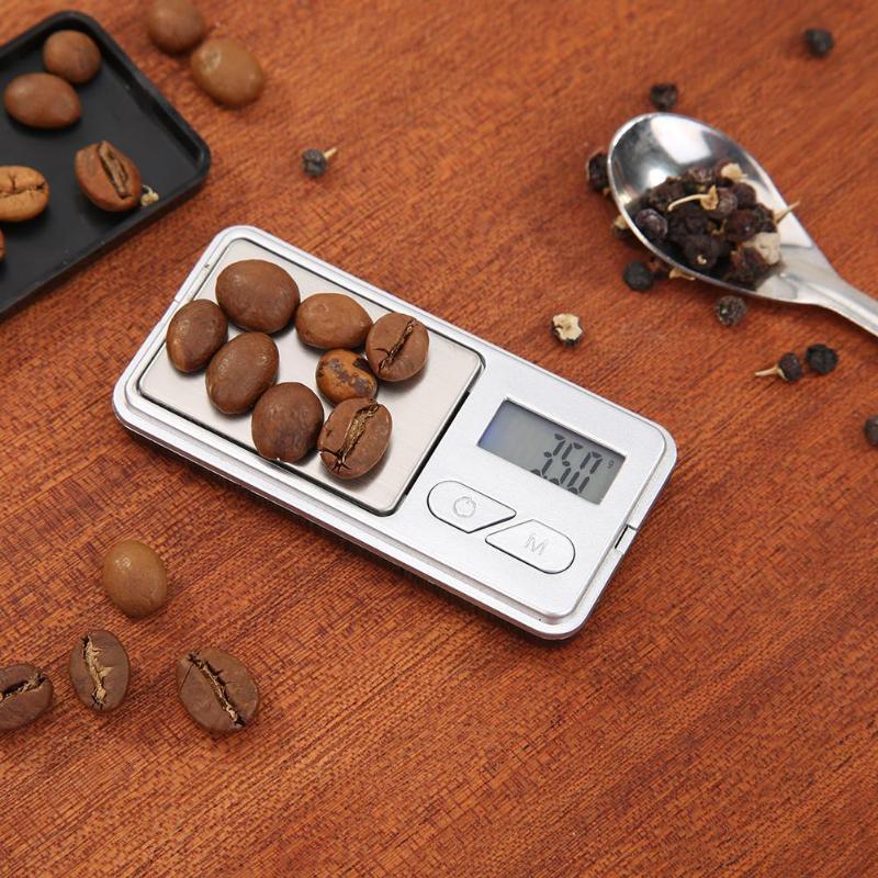 Грамм вес ювелирные изделия цифровые весы Портативный электронный для ЖК-подсветки медицины Алмаз Золото кухонные аксессуары